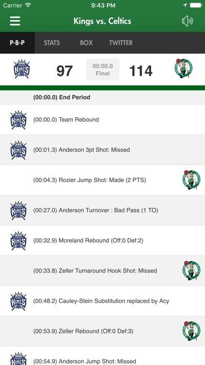 Boston Celtics screenshot-4
