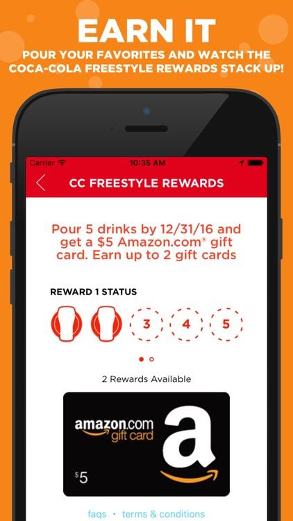 Coca-Cola Freestyle: discover & create drink mixes screenshot-4