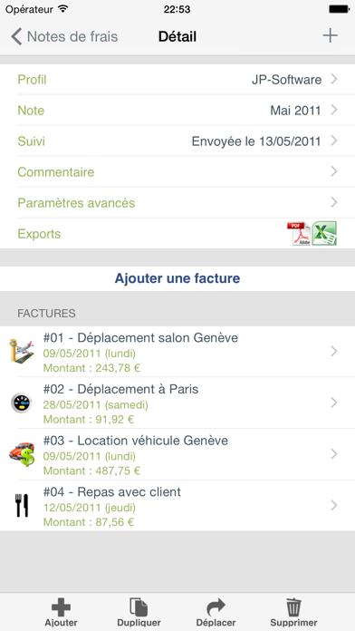 download Mes notes de frais Pro apps 2