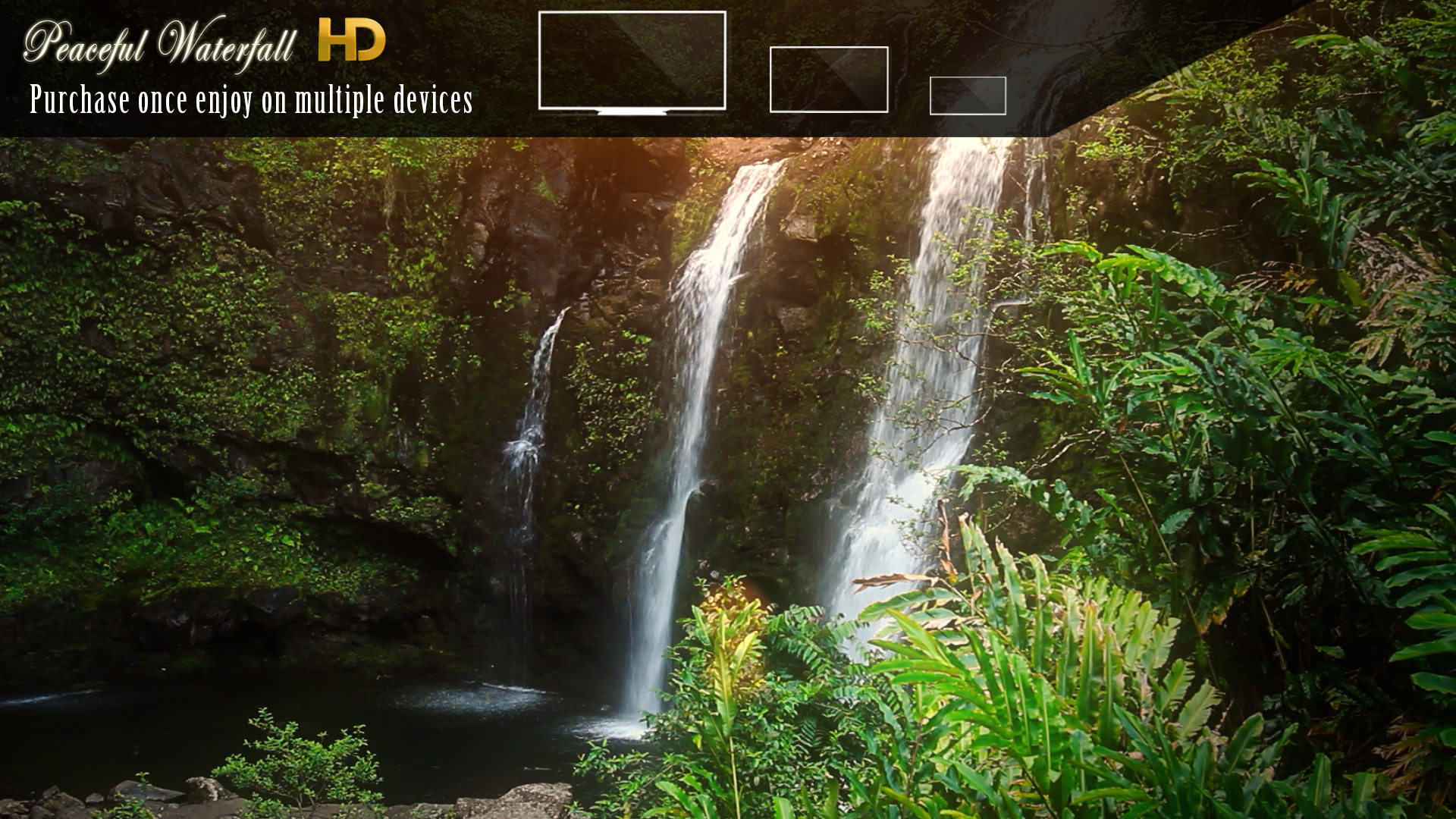 Peaceful Waterfall HD screenshot 10