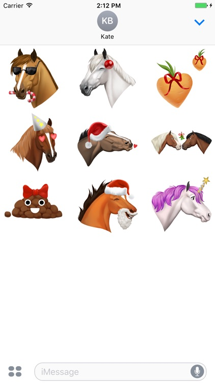 Star Stable Christmas Stickers
