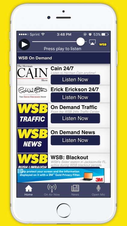 News 95-5 and AM 750 WSB screenshot-3