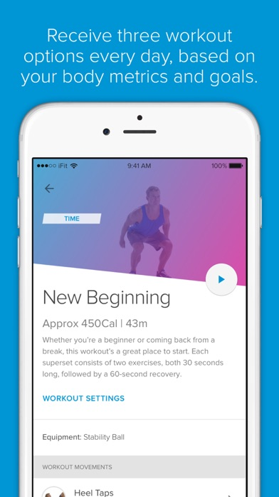 iFit All-day Fitness Coaching - AppRecs