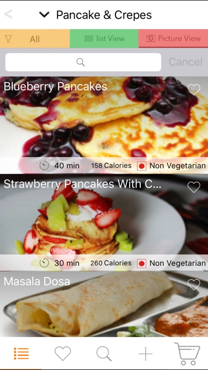 Healthy Breakfast Recipes & Brunch Recipes screenshot-1