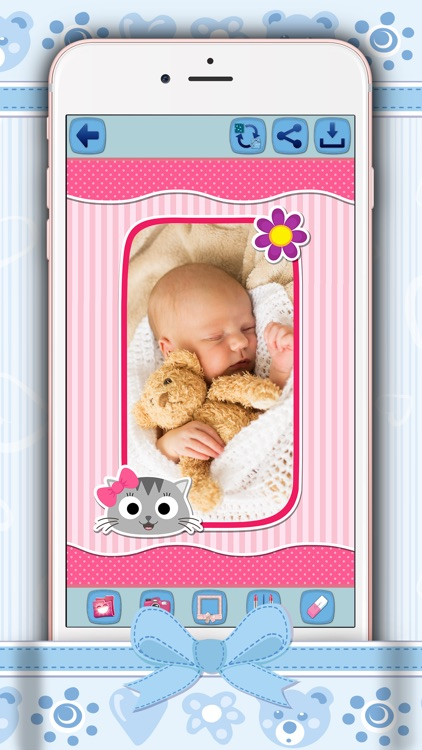 Cute Photo Frames For Kids - Baby Pic Editor Free