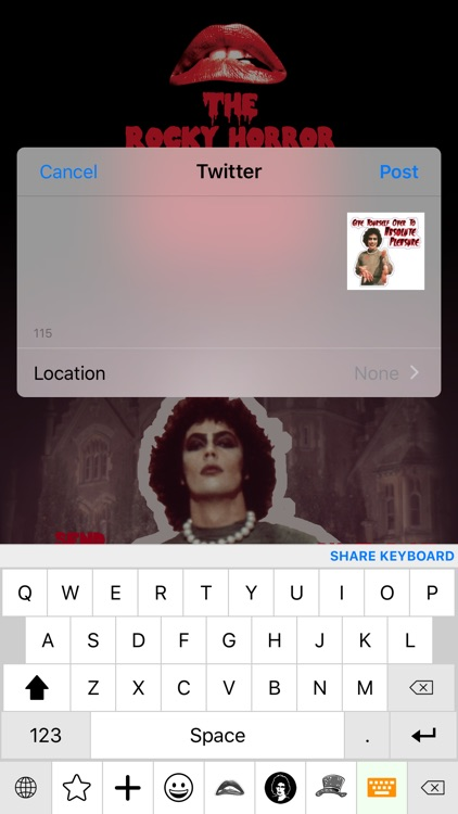 The Rocky Horror Picture Show Emojis