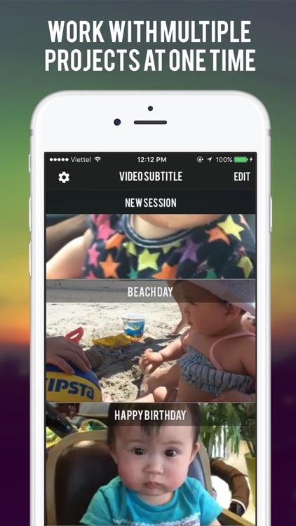 Video Caption - Subtitle Maker screenshot-4