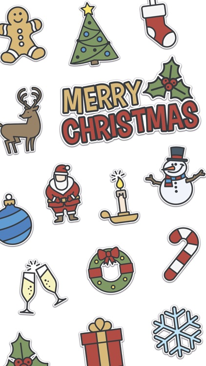Xmas Stickers - Christmas screenshot-0