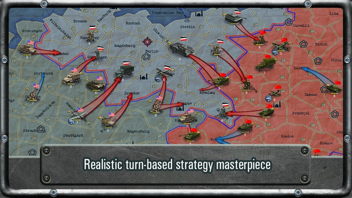 Strategy & Tactics World War 2 Screenshot