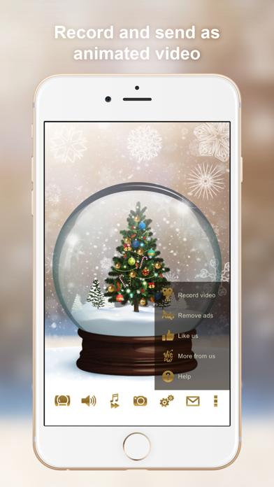 Winter Globe screenshot two