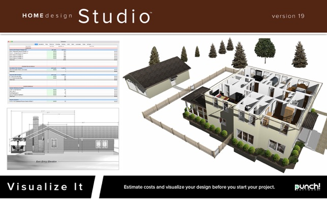 Punch home design studio 19 on the mac app store for Encore punch home landscape design professional
