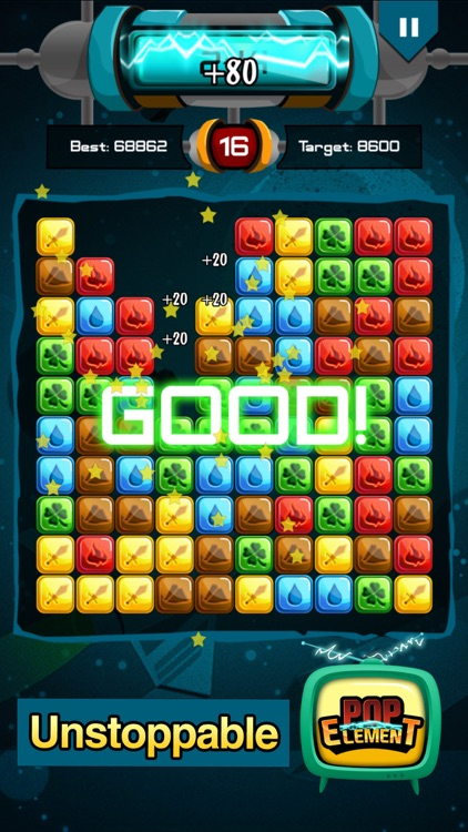 Popstar Element - Pop the stars for puzzle lovers screenshot-3