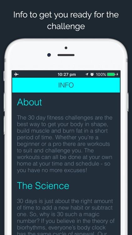 30 Day - Push Up Challenge screenshot-4