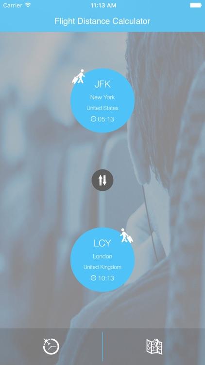 Flight Distance Calculator Time Duration Estimator screenshot-3