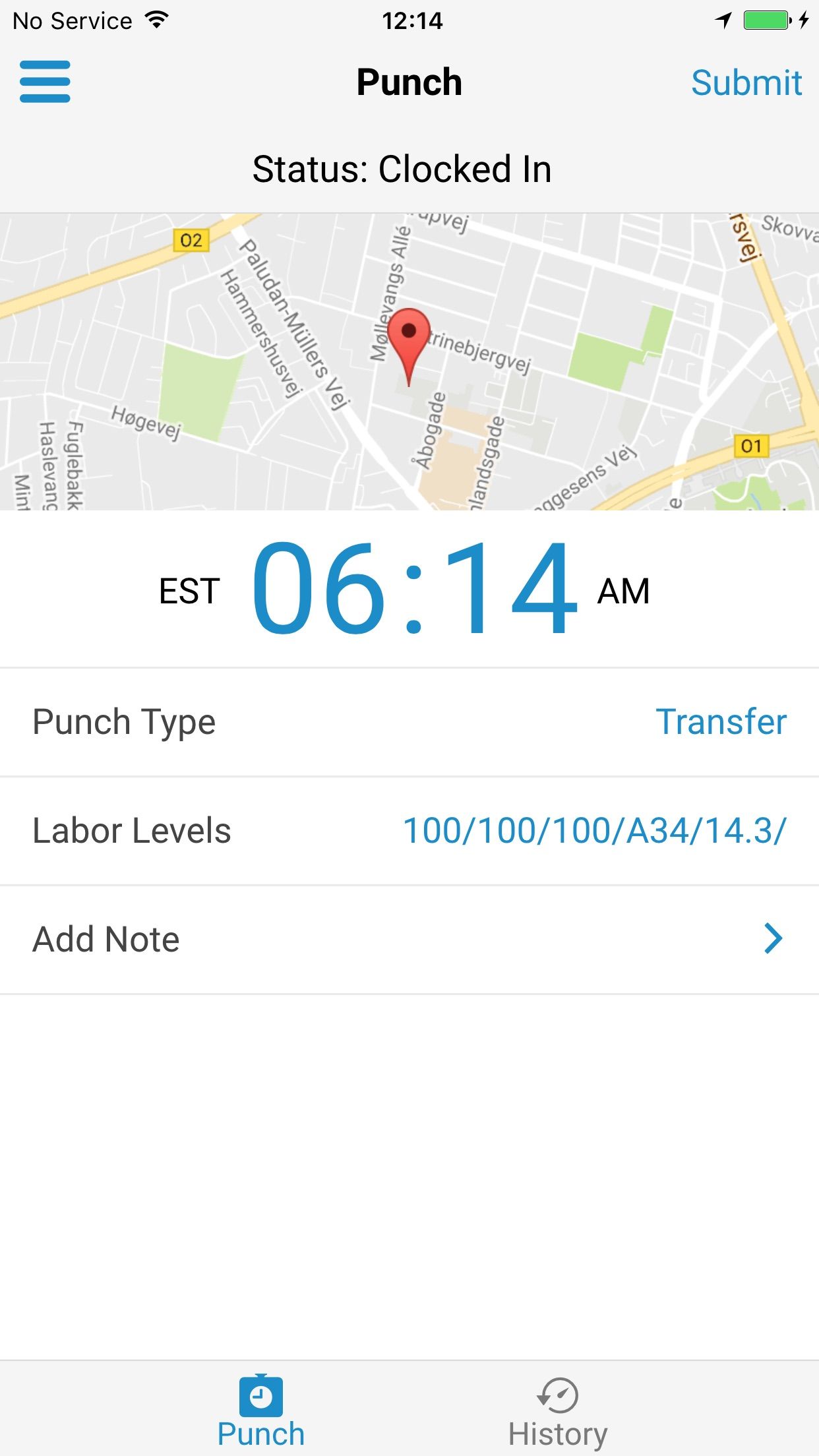 Paylocity Mobile Screenshot