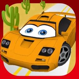 ZigZag Cars : Desert