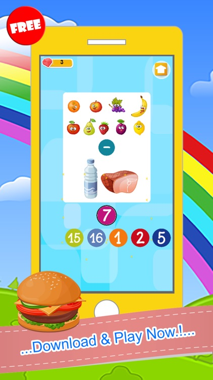 Counting Addition And Subtraction Games For Kids screenshot-4