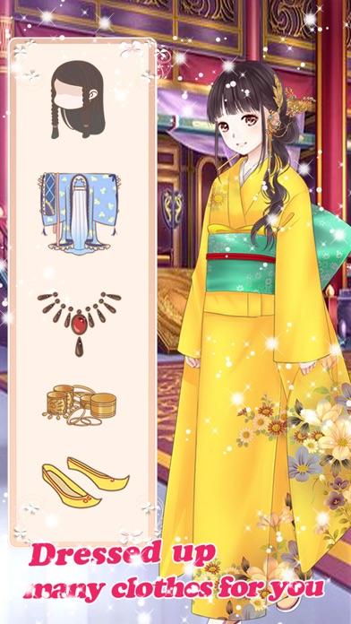 ビューティーサロン-楽しいお姫様の着せ替え無料ゲームスクリーンショット3