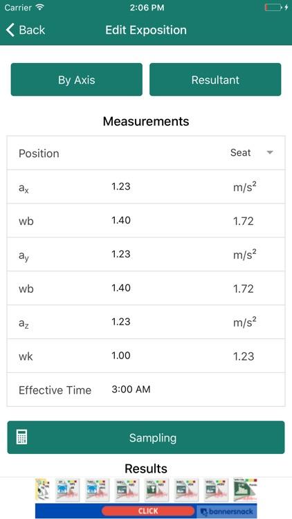 VibAdVisor WBV (VCI) - Whole Body Vibration