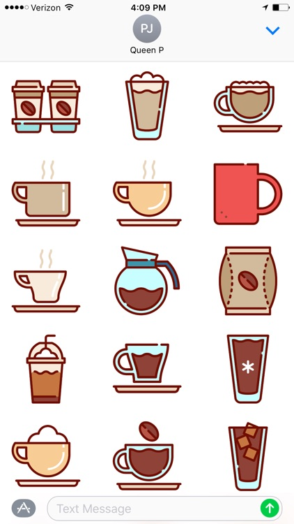 Coffee Time Stickers