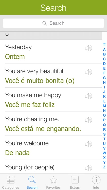 Portuguese Pretati - Speak with Audio Translation screenshot-3