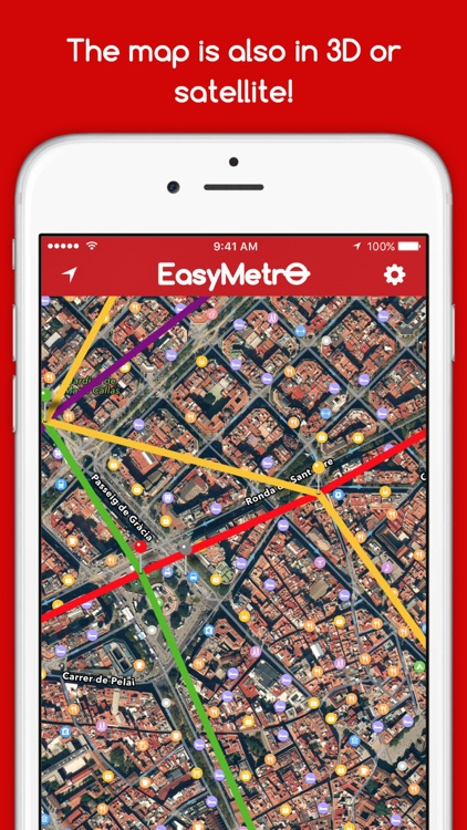 EasyMetro TMB Barcelona - The Barcelona Metro screenshot-4