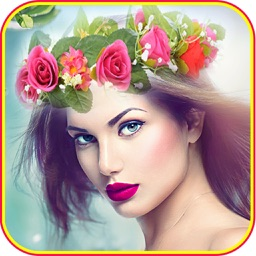 Flower Crown  Hairstyles Makeup
