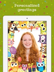 Birthday Cards Free: happy birthday photo frame, gift cards & invitation maker ipad images