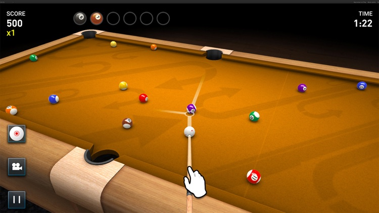3D Pool Game HD screenshot-4