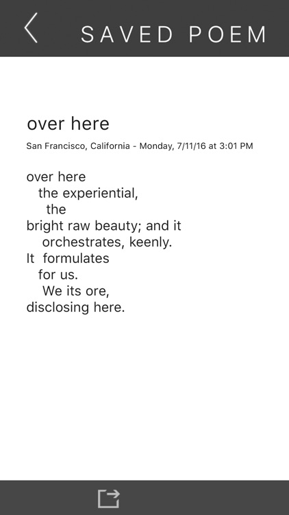 The Ambient Poem screenshot-3