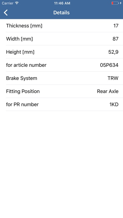 Volkswagen Parts - ETK, OEM, Articles spare parts screenshot-3