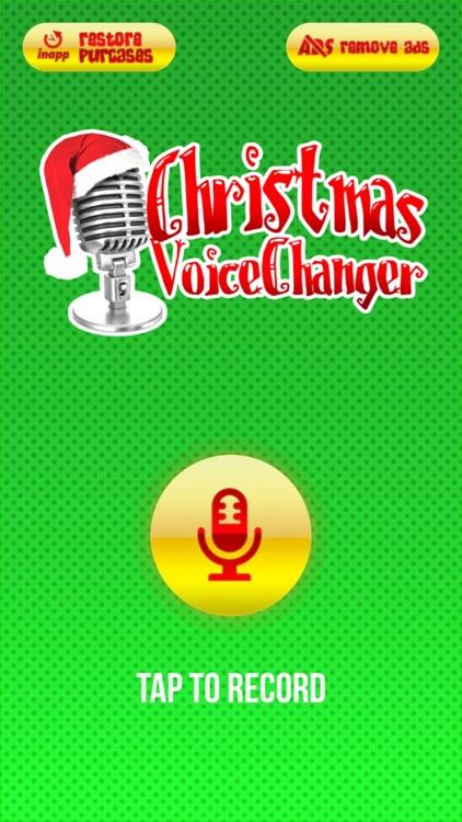Christmas Voice Changer, Sound Recorder & Modifier screenshot-3