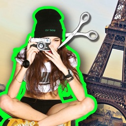 Cut & Paste Photo Blender - Pics Background Eraser