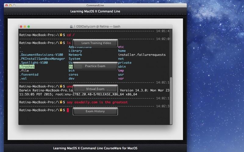 CommandLine screenshot 1