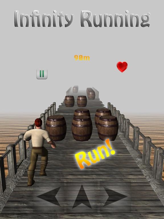 Infinity Running Screenshots