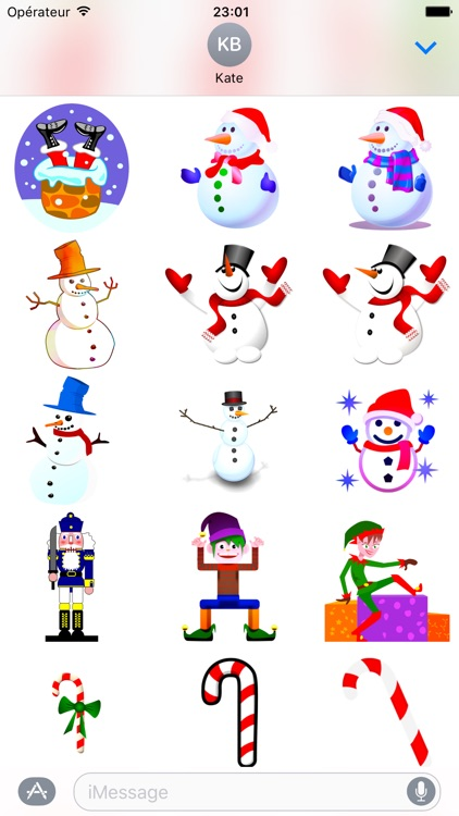 Merry Christmas • Stickers for iMessage