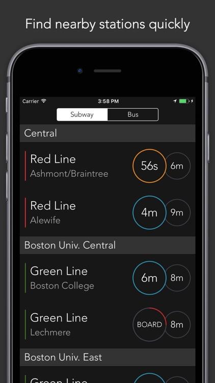 ProximiT - Boston MBTA Tracker for Bus and Subway