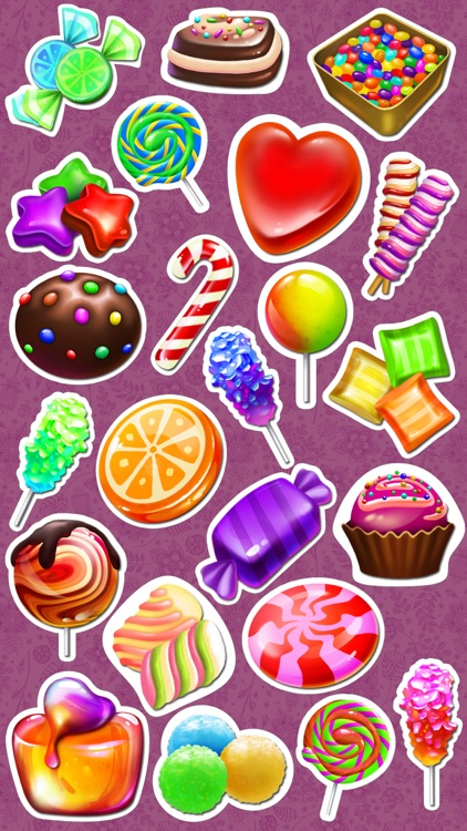 Sweet Candy Stickers