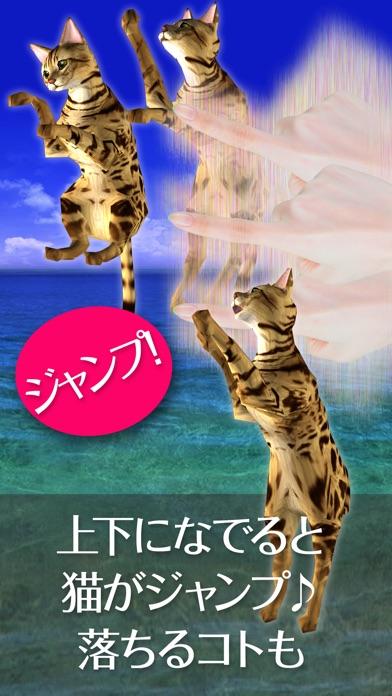 猫っとベンガルがネコっ可愛くなでまくり遊べる無料ペットねこアプリ!紹介画像4