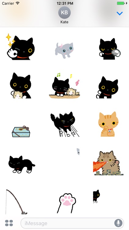 Stupid Cat Animated Stickers