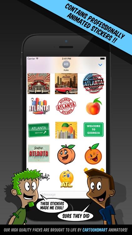 Atlanta Stickers screenshot-3