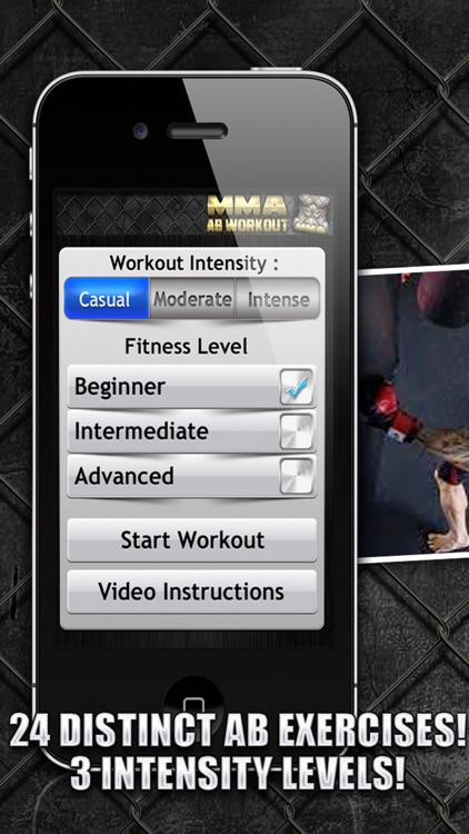 Ab Workouts MMA+ FREE Core Strength Abdominal Flex screenshot-3