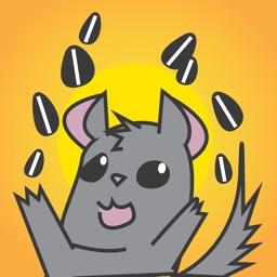 Chinchillamoji - Sticker Pack of Cute Animals