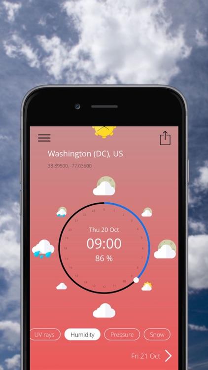 SunClock - Weather clock screenshot-4
