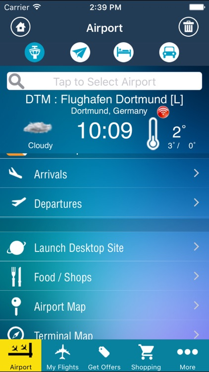 Dortmund Airport Pro (DTM) + Flight Tracker