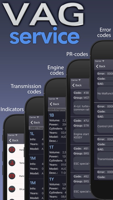 Screenshot for VAG service - Audi, Porsche, Seat, Skoda, VW. in Poland App Store