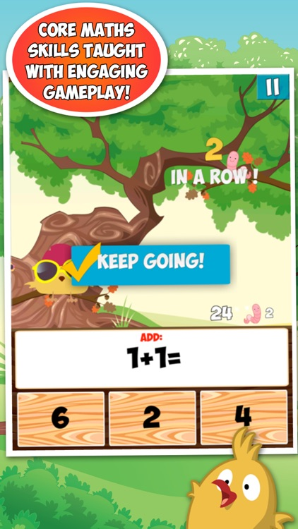 Maths with Springbird (Schools Edition) screenshot-0