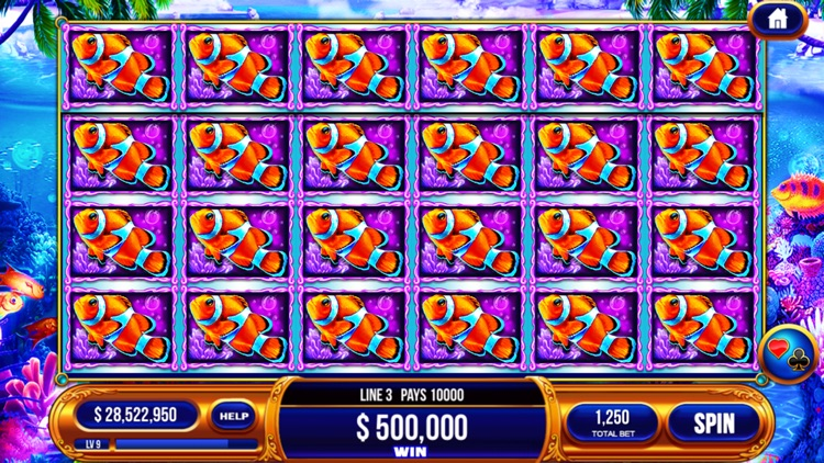 Slots Casino - Feeling Zeus Power Slots,Colorful Fish Slots in vegas. screenshot-4