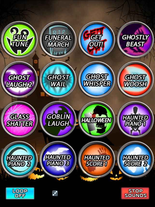 ‎Halloween Spooky Sound Box! Screenshot