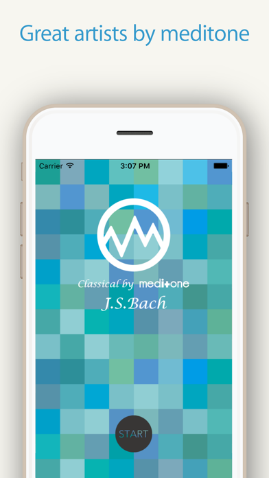 """Relax Classic """"J.S.Bach"""" by meditone®"""